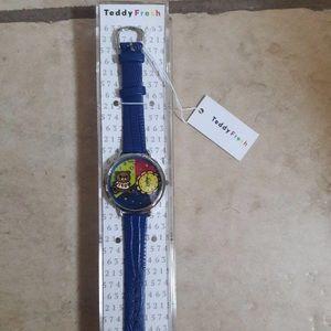 Teddy Fresh Genuine Leather watch